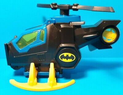 Fisher Price X7652 Imaginext DC Super Friends Batcopter Helicopter Choppper