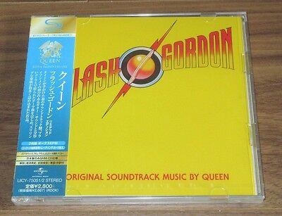Queen JAPAN PROMO issue 2 x SHM CD obi SEALED Freddie Mercury FLASH GORDON O.S.T