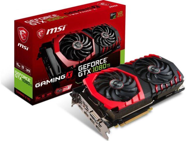 MSI GeForce GTX1080Ti Gaming X 11GB GDDR5X DVI 2xHDMI 2xDisplayport[GTX 1080T..