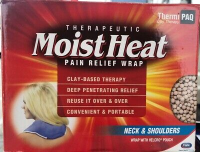 ThermiPaq Microwave Heating Pad For Neck and Shoulders Reusable FREE (Microwavable Heating Pad For Neck And Shoulders)