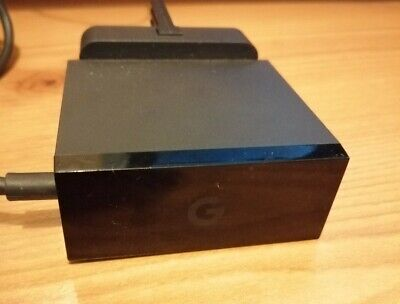 Google Chromecast Ultra AC Power Adapter With Ethernet Port UK Plug
