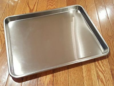 Large Instrument Tray Stainless Steel Tattoopiercing Medical Dental 16 X 13
