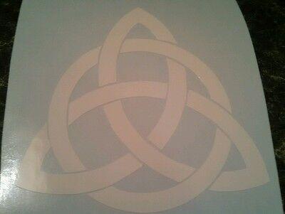 Celtic Trinity Knot vinyl decal/sticker Symbol truck car window laptop 4X4 (Celtic Window Sticker)