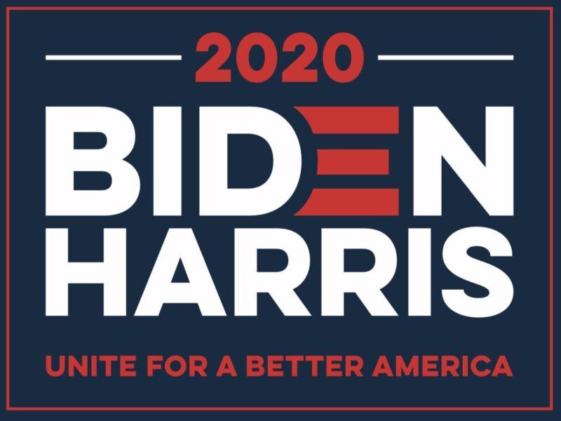BIDEN HARRIS 2020 18x24 Yard Sign WITH STAKE KAMALA ELECTION