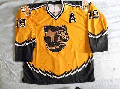 Koho Authentic Boston Bruins jersey Jumbo Joe Thornton 56 vintage Pooh Bear alt