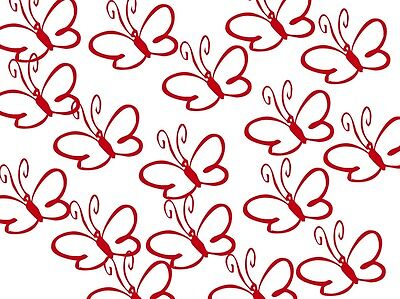 16 Schmetterlinge a,6cm Sticker Fenster,Kacheln,Fliesen,Wand,Möbel,Aufkleber