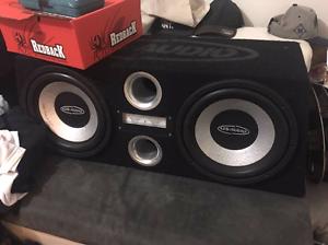 12 inch audio subs. Us audio. Melton South Melton Area Preview