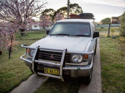 1991 Mitsubishi Pajero Wagon w bed perfect for touring Australia Ryde Ryde Area Preview
