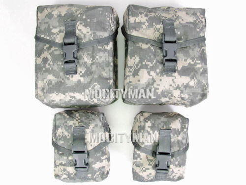 ACU SAW Gunners 4 Pouch Set Military 100 and 200 Round  - New in Pack - USA