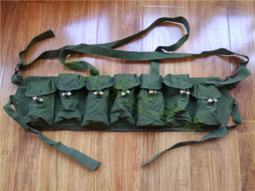 Surplus Ammo Pouch Chinese Type 63 Magazine Pouch Carbine Chest Rig