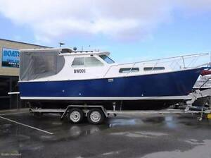 CUSTOM PLATE ALLOY CABIN CRUISER GREAT DECK Wangara Wanneroo Area Preview