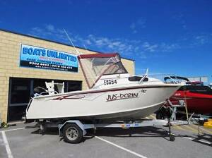 REBEL SPORTS CUDDY OPEN DECK GREAT FIRST FISHING RIG Wangara Wanneroo Area Preview