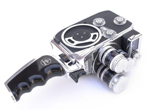 BOLEX  8MM CAMERA EXCLA SERVICE / 180 DAY EXTENDED WARRANTY / FAST TURNAROUND