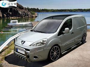 Citroen Berlingo Amp Peugeot Partner Tepee Bull Bar Chrome
