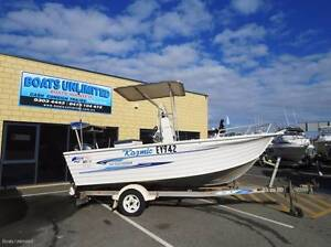 QUINTREX 500 REEF SEEKER CENTRE CONSOLE, GREAT FISHING RIG Wangara Wanneroo Area Preview
