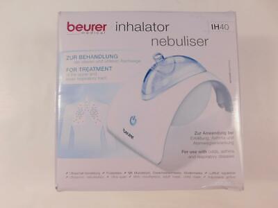 Beurer IH 40 - Inhalator Dampfinhalator Erste Hilfe Medizinbedarf, weiß