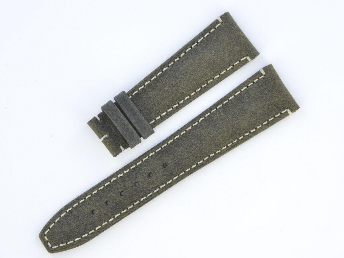 Baumer & Mercier Lederband 22/18 mm Wildleder  17719-1