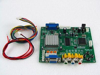 Gonbes GBS8200 CGA/EGA/YUV/RGB To VGA Arcade Game Video Converter Latest aga