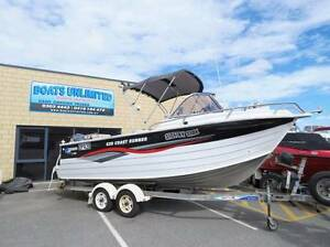 Quintrex 620 COAST RUNNER BEST SIZE FOR FISHING NORTH TRIPS Wangara Wanneroo Area Preview