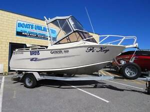 GENESIS 500 RUNABOUT GREAT FIRST FISHING DIVING BOAT Wangara Wanneroo Area Preview