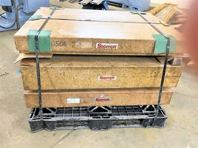 Starrett 18 X 18 X 3 Granite Surface Inspection Plate Grade A B4388