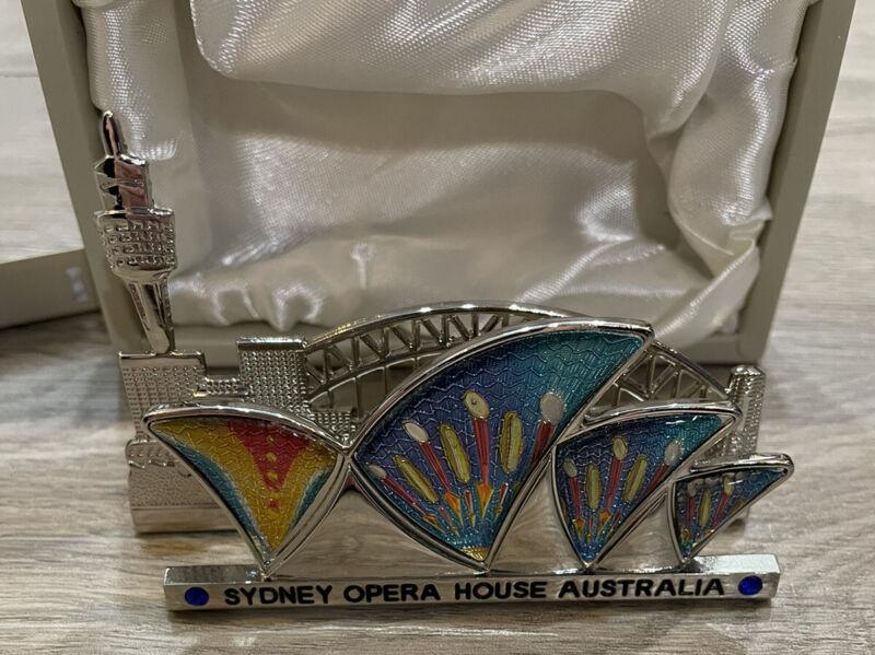 Sydney Opera House Australia Premium Business Card Holder
