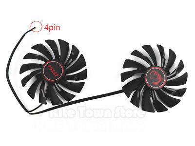 MSI GTX960/970/950 R9 390X/390/380 GAMING Dual Fan PLD10010S12HH 4Pin 12V 0.40A comprar usado  Enviando para Brazil