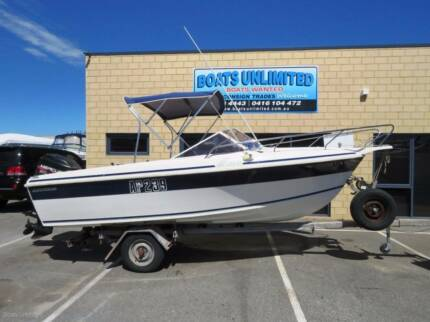 CARIBBEAN COBRA RUNABOUT REDUCED 90HP GREAT RIDING HULL
