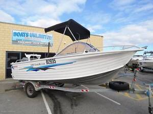 QUINTREX 530 COAST RUNNER NEW UPHOLSTERY LOW HOURS 4 STROKE Wangara Wanneroo Area Preview