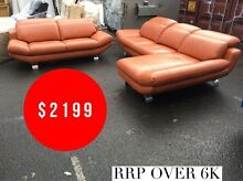 LOUNGE SET 2.5 + 2.5 Chaise - FACTORY SECONDS 50%-80% OFF RRP Annandale Leichhardt Area Preview