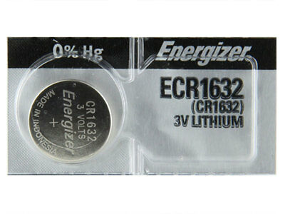 1 X Energizer ECR1632 Lithium 3V Coin Button Cell Battery (1 Pack)