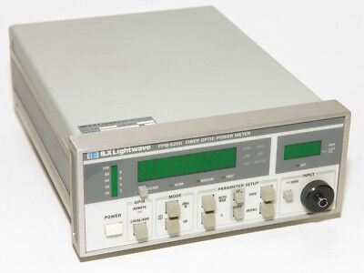 Ilx Lightwave Newport Fpm-8200 Fiber Optic Power Meter 800-1600 Nm Range 0.1pw