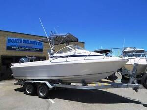 SEAFARER VAGABOND 6.2 BEST RIDING HULL SIZE FOR SIZE HUGE DECK Wangara Wanneroo Area Preview