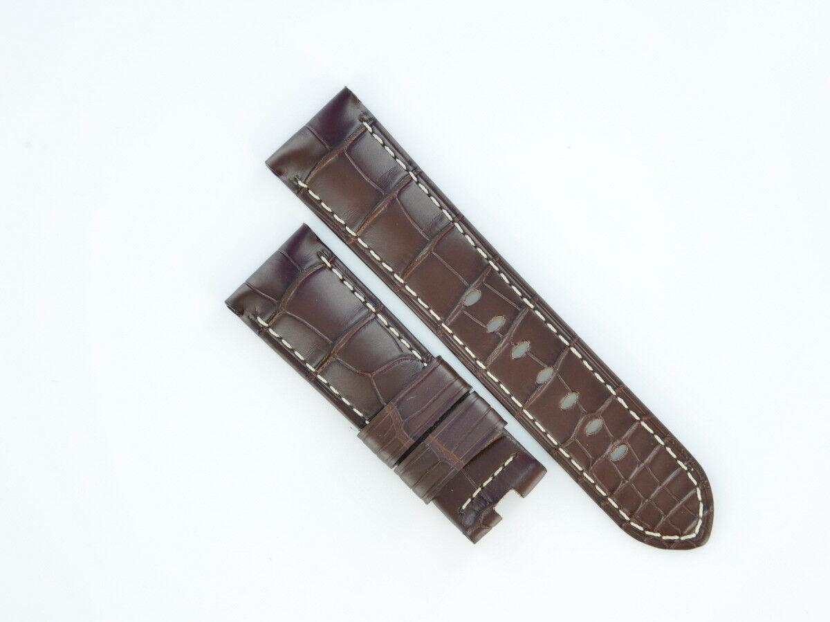 Panerai Lederband 24/22 mm Neu vom Uhrencenter Berlin 17752-14