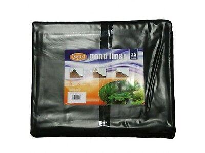 Pre Cut Pre Pack Garden Pond Liner PVC 0.5mm 4M x 4M