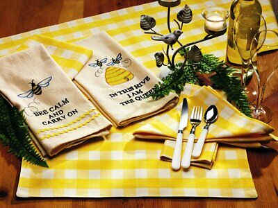 Picnic Yellow Napkin - Yellow Napkins