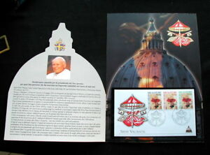 2005 ITALY Vatican FDC cover stamp Catholic POPE GIOVANNI PAOLO II Sede Vacante - Italia - 2005 ITALY Vatican FDC cover stamp Catholic POPE GIOVANNI PAOLO II Sede Vacante - Italia