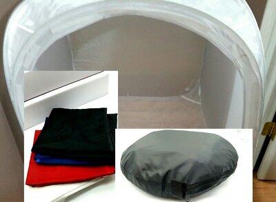 "NICE 47x33x30"" Photo Shoot Tent  Box Softbox Lightbox Light Collapsible  808"