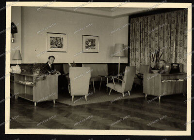 Foto-Benzol-Verband-BV-B.V.-Seminar-Hotel Bracksiek-Schledehausen-1955-4