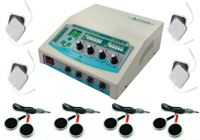 4 Channel Electrotherapy Unit Physical Physiotherapy Machine For Prof Home Use