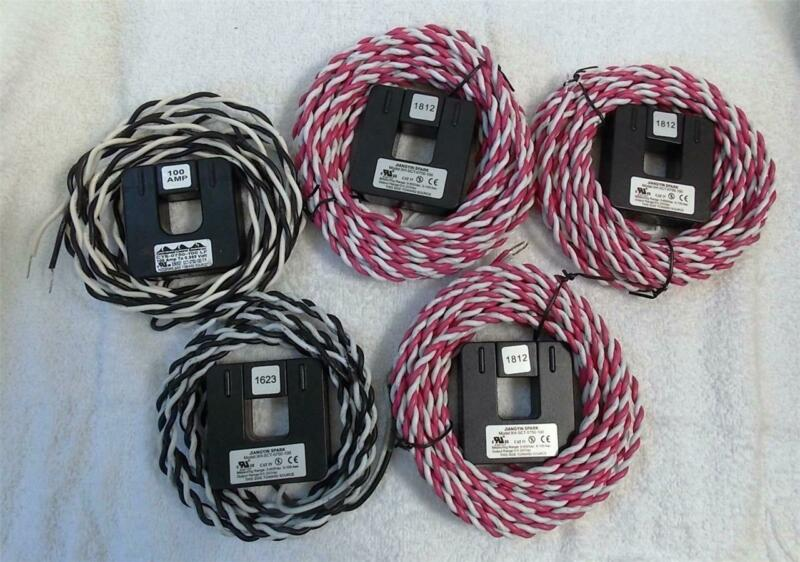 Split Core Current Transformers, 5 ct., mixed XH-SCT & CTS 0750-100
