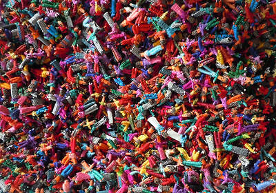 140 Tiny Worry Dolls - Guatemalan Trouble Doll Handmade Mayan -  US Seller! NEW
