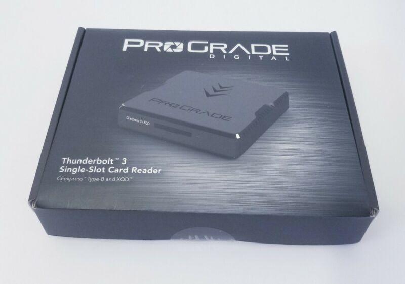 ProGrade Digital Thunderbolt 3 Card Reader (CF and XQD)