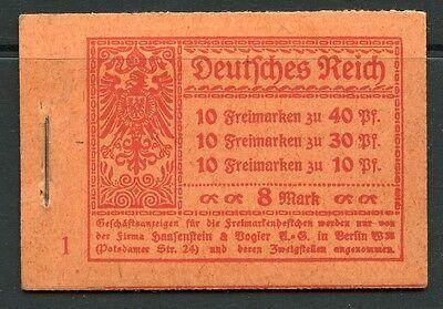 DR Markenheftchen 14.1 A 3   Postfrisch KW = 250,- M€