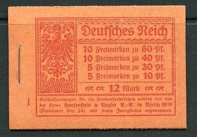 DR Markenheftchen 15.1 A 2   Postfrisch Klammer original ungeöffnet KW = 900,-M€