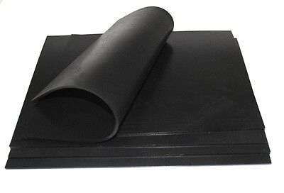 Silicone Rubber Sheet 0.11 Thick 1.26 X 0.9 Colors Black 1 Sheets