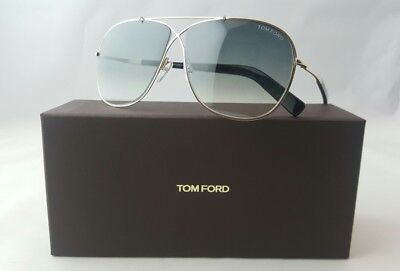 TOM FORD APRIL TF 393 28P GOLD BLACK UNISEX SUNGLASSES MADE IN ITALY 8be6cfc6be5