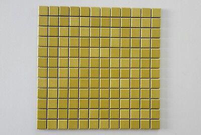 12 X 12 Mosaik (1 Matte Mosaikfliesen - 1 Matte 29,8x29,8cm -1 Stein 2,4 x 2,4 cm - M12)