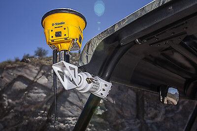 Universal Utv Gps Mount Trimble Topcon Survey Sxs Roll Bar Cage Utvmounts Rover