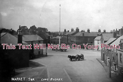 NH 325 - Market Square, Long Buckby, Northamptonshire - 6x4 Photo
